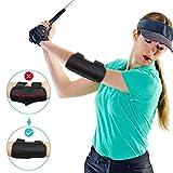 Yosoo Golf Trainingshilfe, Golf Schwungtrainer Elvow Ellbogen Trainingshilfen Golf Swing Trainer Aid Golfschwung Golf Schwungtraining für Anfänger Training mit Tok-Tok Sound Notifications