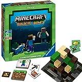 Ravensburger Familienspiel Minecraft Builders & Biomes, Gesellschaftsspiel für Kinder und Erwachsene, für 2-4 Spieler, Brettspiel ab 10 Jahren