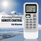 Calvas Fernbedienung für Klimaanlage Hisense DG11J1-98 DG11J1-01 DG11J1-04 DG11J1-05 (E)