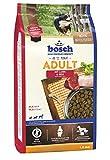 bosch HPC Adult mit Lamm & Reis | Hundetrockenfutter für ausgewachsene Hunde aller Rassen, 5 x 1 kg