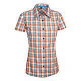 SALEWA Damen Bluse 2.0 Dry W Short Sleeve Shirt, M Avoriaz Sn/Tar/Tig, 36/S, 00-0000024861