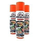ToCis Big-BBQ Barbecue Pflege-Spray für Grill und Gußeisen 200 ml Dose Trennspray Trennfett Grillspray Backtrennmittel (3 Stück)