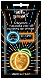Selfie Project Nourishing Neon Peel-Off Mask #GlowInOrange, 10 g