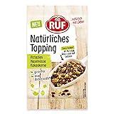 RUF Natürliches Topping Pistazien, Haselnüsse, Kakaokerne, glutenfrei, ohne künstliche Zusatzstoffe, 30 g