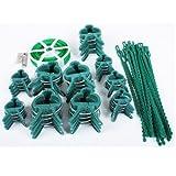61-teiliges Pflanzen - Clip - Set / Pflanzenbinder / Bindedraht