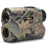 BIJIA Entfernungsmesser Laser Jagd golf Rangefinder 650 Yard ,IP54 Wasserdicht/mit Reichweite/Geschwindigkeit/Scan-Modus R600.