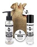 BarFex Bartpflege Essentials Set ● Bartöl, Bart Wax, 2in1 Bart Shampoo Conditioner ● Made in Germany ● Männer Geschenk inkl. Bartpflege E-Book