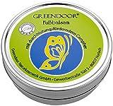 Greendoor Fussbalsam mit BIO Kakaobutter, jetzt den VERGLEICHSSIEGER kaufen, Fusscreme Schrundensalbe, 4 fache Ergiebigkeit, Naturkosmetik, natürlicher Fuß Balsam, Fuss-Pflege Creme