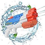 EKKONG Wasserpistole Spielzeug, Schießt bis zu 8-10 m weit, für Kinder und Erwachsene, für Sommerpartys im Freien, Außenpool, Garten und Strand, 1,15 Liter Wassertank