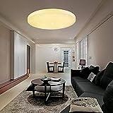VINGO 16W LED Deckenleuchte Warmweiß LED Starlight-Effekt Rund 2700K-3000K,Φ340*81 Kinderzimmer Deckenbeleuchtung