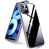 TORRAS Ultra Clear Kompatibel mit iPhone 11 Hülle [Vergilbungsfrei] Stoßfest Durchsichtig für iPhone 11 Case Hard PC Back & Soft Silikon Bumper Schutzhülle Handyhülle für iPhone 11 (Transparent)