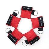 CPR Maske Schlüsselanhänger Ring Emergency Kit Rescue Face Shields mit Einweg-Ventil Atem Barriere für Erste Hilfe oder AED Training (5)