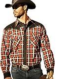 Stars & Stripes Herren Westernhemd »JAYDEN« Karo (XXXL)