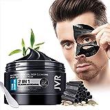 JVR Bambus Kohle Tiefreinigung Peel Off Maske, Schwarze Maske, Blackhead Maske für Poren Reinigen, Entfernt Mitesser, Öl Kontrolle 120ml