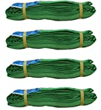 4x Rundschlinge 2000 kg 2 to grün 3 m Umfang Hebeband Hebeschlinge Kran Hebegurt