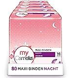 Camelia Maxi Binden Nacht, 5er Pack (5 x 16 Stück = 120 Stück)