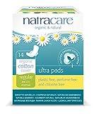 Natracare Natural Ultra Pads mit Flügeln, regulär, 14 Stück