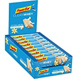 PowerBar Clean Whey Vanilla Coconut Crunch 18x45g - High Protein Low Sugar Riegel