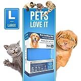 PETIC Kühlmatte für Hunde Katzen Haustiere Kältematte für Hunde Selbstkühlende Hundedecke Kühlkissen Hund Kühldecke Matte Groß 50x90cm Cooling Mat for Dog Cat Pets