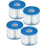 4Intex Kartuschen für Whirlpool-Filter–Intex Typ S1