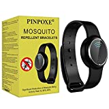 PINPOXE Mückenschutz Armband, Anti Mosquito Bracelet, Reusable Repellent Wristband Armband, Mückenarmband Armbänder Mosqito, Schutz gegen Mücken Outdoor, für Camping,Jogging,Wandern