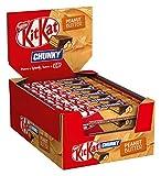 Nestlé KitKat ChunKy Peanut Butter, Schokoriegel in Milchschokolade, mit Erdnussbutter & knuspriger Waffel, Multi-Pack, Menge: 24er Pack (24 x 42 g)