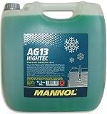 MANNOL 15779500000 Antifreeze AG13-40 Kühlerfrostschutz Kühlmittel 10L MN4013-10