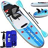 DURAERO Stand up Paddling Board Aufblasbare SUP Board kajak aufblasbar SUP Board Set, Paddling Surfbrett, Wassersport Kajak Sitz, 305x76x15cm, Bis 110kg