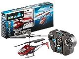 Revell Control RC Helikopter, ferngesteuerter Hubschrauber für Einsteiger, 2-CH IR Fernsteuerung, einfach zu fliegen, Gyro, sehr stabil, einfaches Laden an der Fernsteuerung, Indoor - SKY ARROW 23955