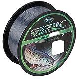 Specitec ' Forelle 'SchnurØ 0,20mm -Farbe: Smoke Clear Transparent - Angelschnur monofil Zielfischschnur