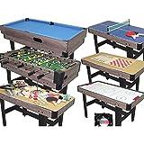 Top Table Multifunktionstisch 16in1, Tischkicker