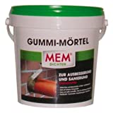 MEM 30836469 Gummi-Mörtel 1 kg