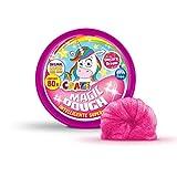 Craze Superknete für Kinder Magic Dough Intelligente Knete Einhorn 80g in Dose BPA-und glutenfrei Glitzer 58917, Unicorn-3 Farben