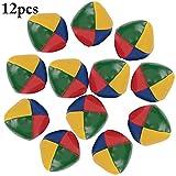 Joyibay 12 Stück Jonglierbälle Lustige Spielbälle Interaktives Spielzeug für Kinder