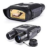 Digitales Nachtsicht-Fernglas für die Jagd 7x31 mit 2-Zoll-TFT-LCD-HD-Infrarot-IR-Kamera und Camcorder mit Einer Sichtweite von 400 m und Einer 32-G-Speicherkarte für 5 MP-Fotos und 640-P-Videos
