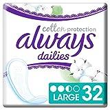 Always Cotton Protection Large 32 Slipeinlagen