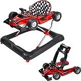 Ib style® Little Racer |2 in 1|Gehfrei|Lauflernwagen|Licht & Melodie|EN 1273:2005 | ROT