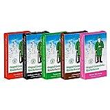 5er Pack Crottendorfer Räucherkerzen 5 x 24 Stück, Sandelholz, Weihrauch, Tannenduft, Bunte Mischung, Adventsduft, Räucherkegel, Weihnachtskerzen, Räucherpyramide