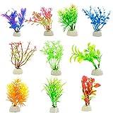 DIGIFLEX 10 Stück Verschiedene Aquarium Pflanzen