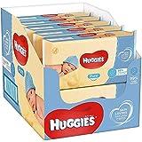 Huggies Pure, sanfte Baby-Feuchttücher, 99% Wasser, 10 x 56 Tücher, Monatspack