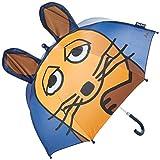 Playshoes 3D Regenschirm Die Maus Capo d'Abbigliamento, Blu (Marine), Original Mädchen
