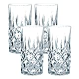 Spiegelau & Nachtmann, 4-teiliges Longdrinkgläser-Set, Kristallglas, 375 ml, Noblesse, 61791