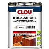 CLOU Holz-Siegel Tischlerlack: Premium Klarlack zur Lackierung von Möbeln, Treppen, Parkett und im Garten, glänzend, 0,75 L