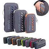 Eono Amazon Marke Essentials Mikrofaser Handtücher, klein, leicht und Ultra saugfähig - das perfekte Sporthandtuch, Reisehandtuch, Microfaser-Badetuch, Strandhandtuch, Royalblau - XL
