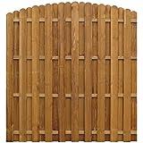 vidaXL Kiefer Sichtschutzzaun 170x(156-170) cm Gartenzaun Dichtzaun Holz Zaun