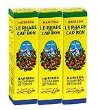 3x140g Le Phare du Cap Bon Harissa Sauce (3 große Röhrchen)