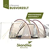 Skandika Camper Tramp Bus-Vorzelt, freistehend mit Schlafkabine für 2 Personen, 210cm Stehhöhe
