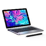 CHUWI Hi10 X Tablet PC 10,1 Zoll Windows 10-Betriebssystem (Intel Gemini-Lake N4100) Quad-Core bis zu 2,4 GHz 1200 * 1920IPS 6 GB RAM + 128 GB ROM, WLAN (mit Tastatur und Stift)
