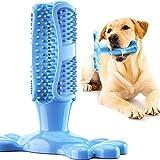 BTkviseQat Hundezahnbürste Hundespielzeug Kauspielzeug Gummi Zahnreinigung Hunde Zahnbürste Stick Langlebig,effektives Massagegerät, ungiftig, Naturkautschuk, beißfest