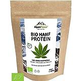 AlpenPower BIO HANFPROTEIN aus Österreich 600 g I 100% reines Hanfprotein ohne Zusatzstoffe I Vegan & Low Carb I Hochwertiges Eiweißpulver I Vielseitig anwendbar